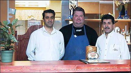 Ayub, kocken Jocke och Mohammed