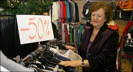 Anette Jakobsson stuvar undan julen och laddar för januarirean i sin butik