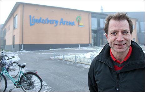 Michael Blixt är ny chef på Lindesberg Arena