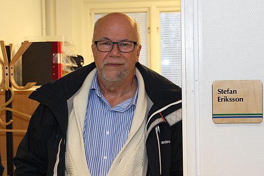 Stefan Eriksson, ny VD för Linde Stadshus AB.  Foto: Christer Karlsson