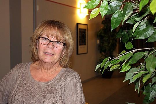 Carina Östrand, Kultur- och fritidsnämndens ordförande. Foto: Monika Aune