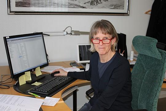Merit Israelsson, näringslivschef i Lindesberg. Foto: Monika Aune