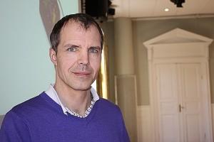 Anders Anté, VD för Linde Energi. Foto: Monika Aune