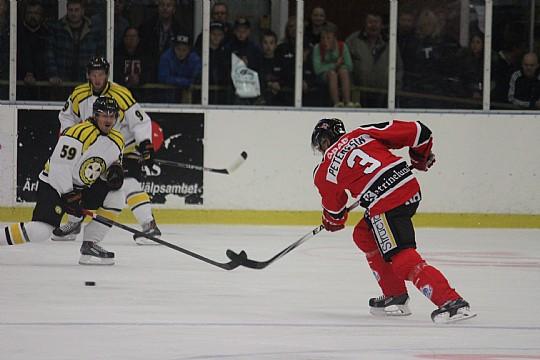 I augusti möttes Örebro Hockey och Brynäs i Lindehov. Imorgon kommer klubbarnas J18-lag på besök. FOTO: Hannes Feldin