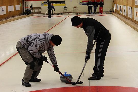 Det klassiska Klubbmästerskapet är återigen igång, med curlinghallen som spelplats. FOTO: Hannes Feldin