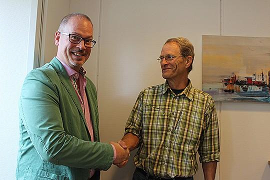 Det var i somras som Roger Sixtensson, Libo, och Per Zetterlund, solel i Lindesberg kom överens om att tillsammans bygga för solel