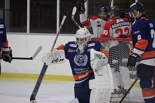 Ett tröttkört Lindlöven föll mot Forshaga, men Daniel Eriksson söker inga bortförklaringar. FOTO: Hannes Feldin