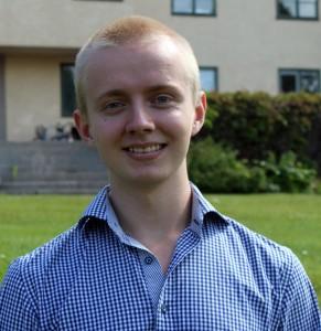 Magnus Danielsson utvecklar en app. Foto: Ida Lindkvist