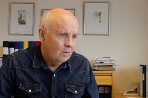 Leif Lindström lämnar jobbet som gymnasiechef och går i pension samtidigt som Lindeskolan firar 50 år. Foto: Hans Andersson