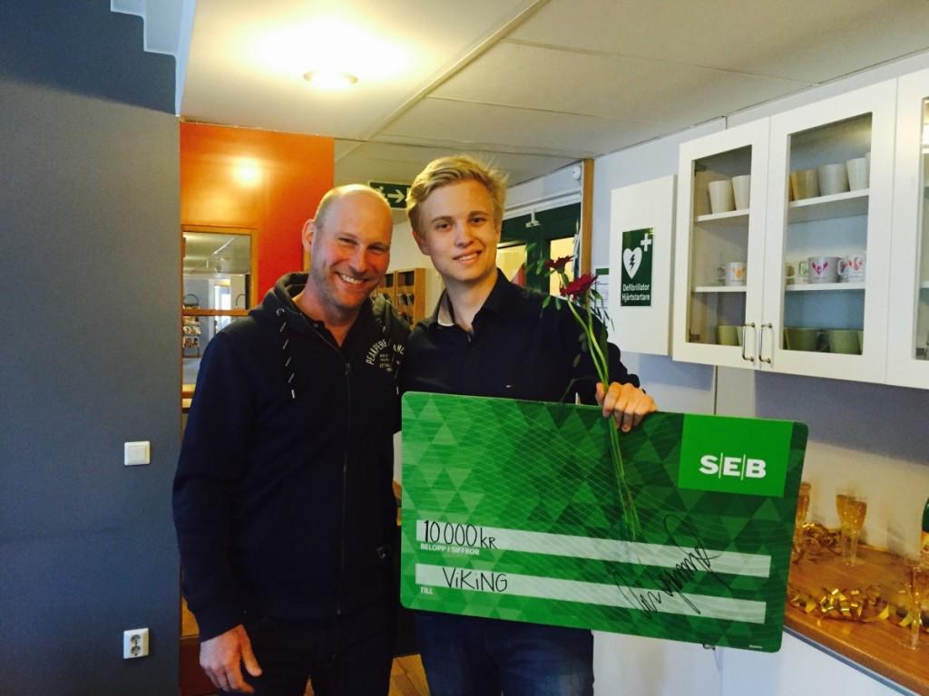 Andraplatsen gick till Felix Olofsson och Julius Detlofsson. Privat foto.
