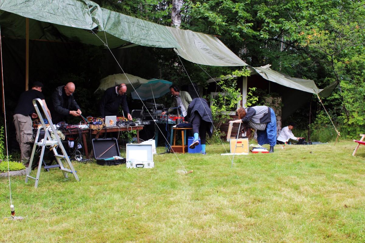 Förberedelserna pågår. Foto: Ida Lindkvist