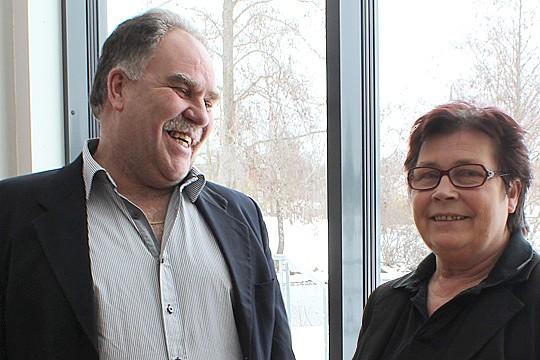 Elof och Anita Elvenäs, Arenakrogen. Arkivfoto: Lina Hagst