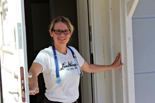 Camilla Kruse öppnar sin praktik i slutet av juli. Foto: Ida Lindkvist