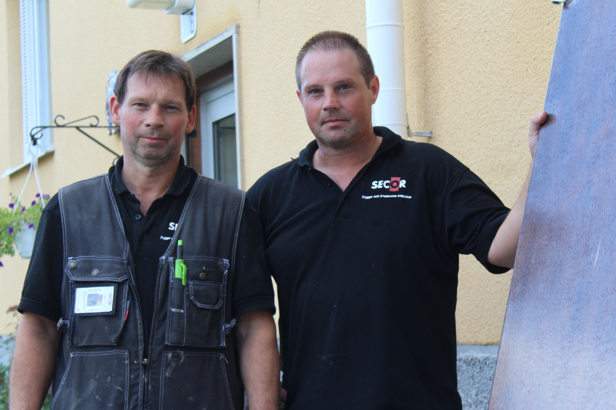 Henry och Hansi driver SECOR. Foto: Ida Lindkvist