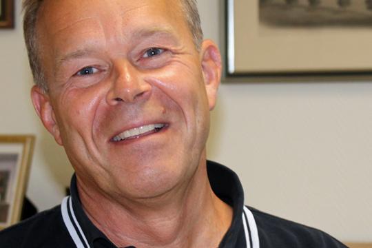 VD Dan Johansson har 50 miljoner anledningar att vara extra glad. Arkivfoto: Monika Aune
