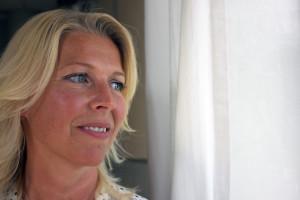 Ann-Louise Johansson är HR-chef och har hand om personalfrågorna på Meritor. Foto: Hans Andersson