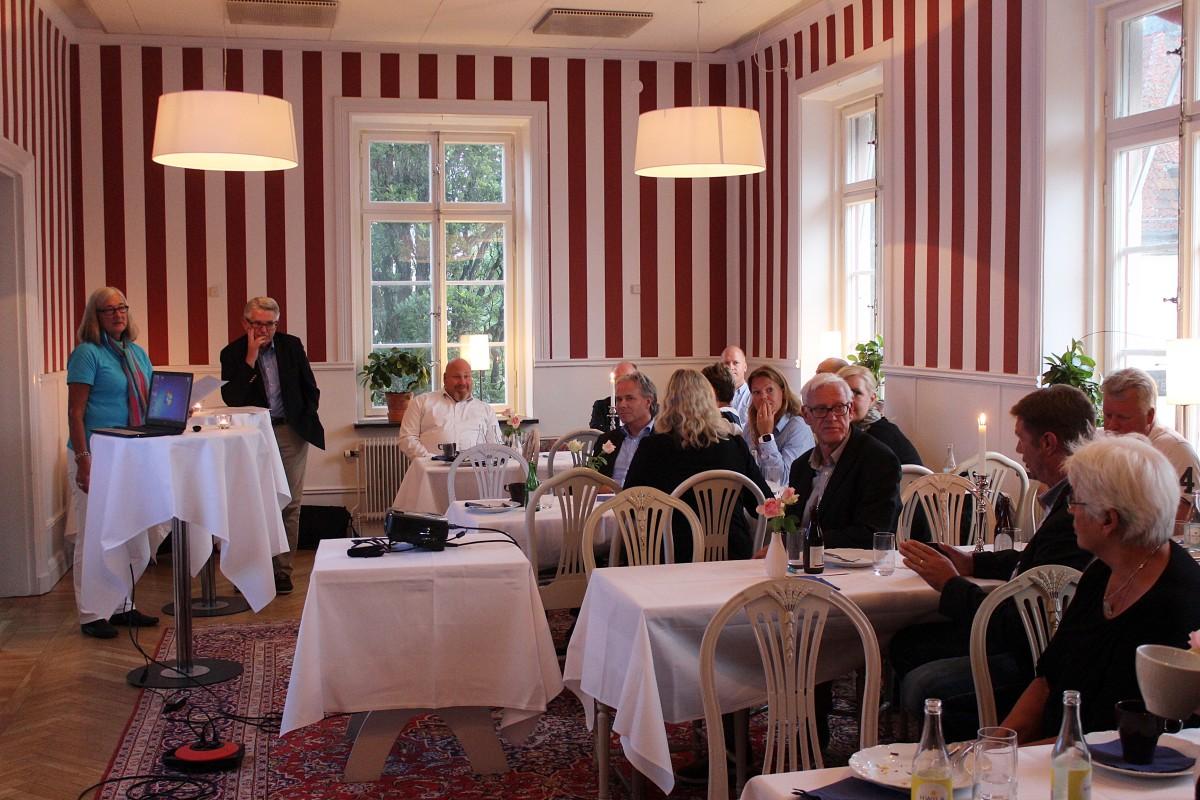 Stabilt intresse för pubkvällarna. Foto: Ida Lindkvist