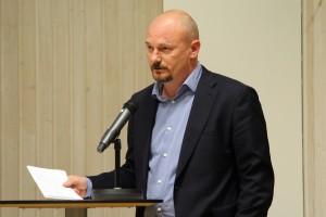 Per Söderlund (SD) gav sig också in i debatten. Foto: Ida Lindkvist