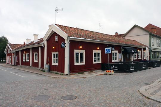 Lasse Maja kommer att inkludera hela den röda längan neråt efter ombyggnationen. Foto: Fredrik Norman