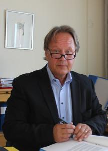 Staffan Hörnberg satte sig på gymnasiechefsstolen den 1 september. Foto: Hans Andersson