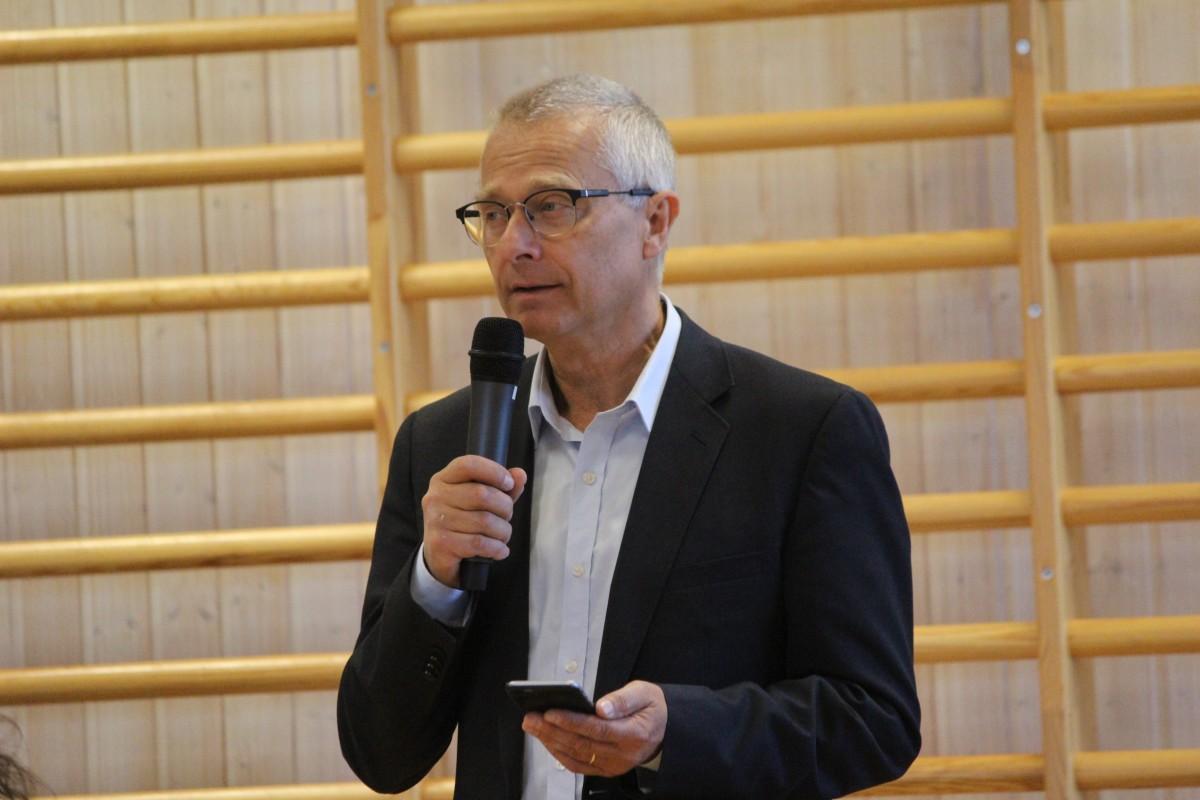 Bengt Storbacka (S) talade om värdighet. Foto: Ida Lindkvist