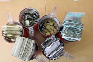 337 629 kr - så mycket gav lindesbergarna till Världens Barn. Foto: Hans Andersson