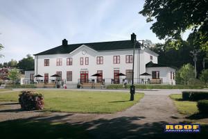 Så här skall det nya stationshuset se ut. Bild: Roof Arkitekter