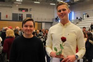 Tobias Oskarsson och Linus Lindkvist. Foto: Ida Lindkvist