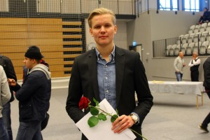 Marcus Engström. Foto: Ida Lindkvist