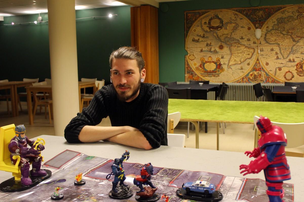 Här har Rickhard Nilsén numer sitt kontor. Foto: Ida Lindkvist