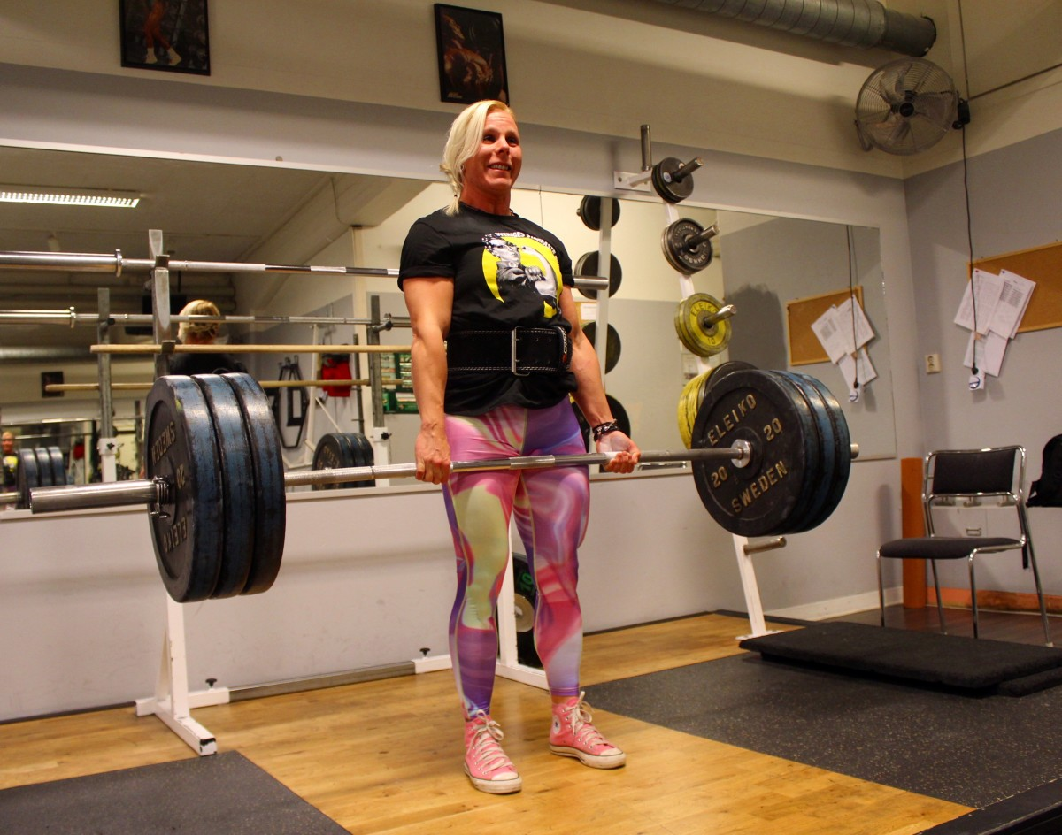 sveriges starkaste kvinna