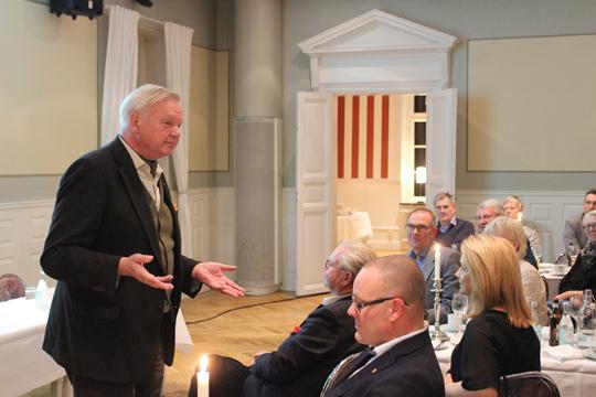 """Måltidsprofessorn Carl Jan Granqvist """"höll symposium"""". Foto: Hans Andersson"""