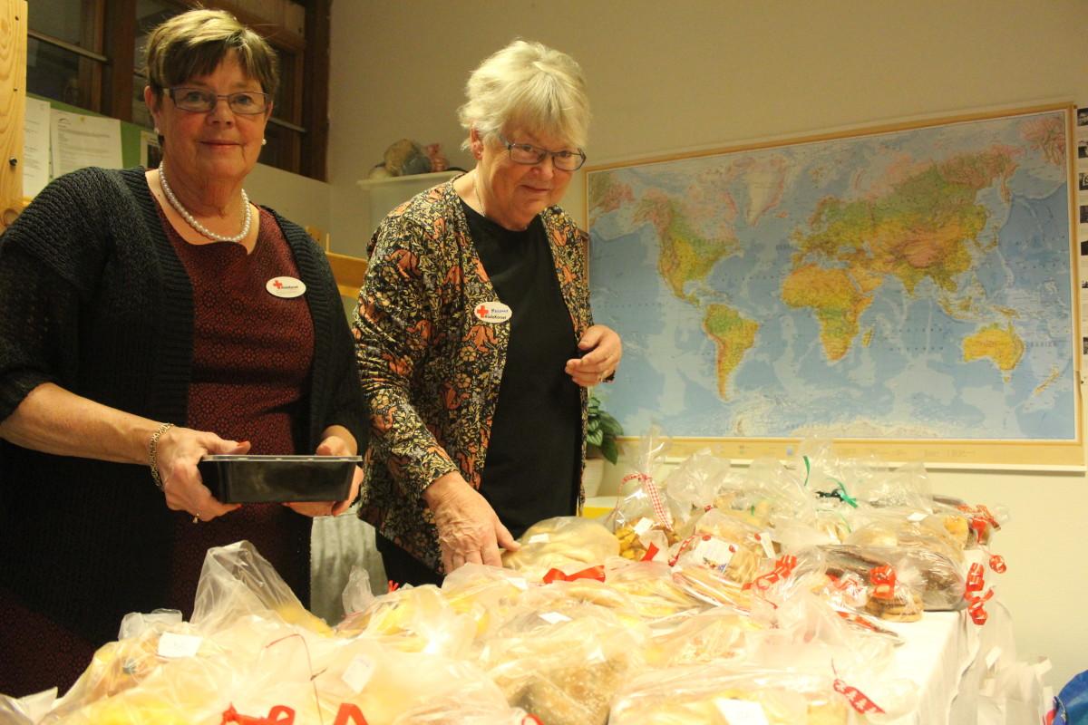 Brödförsäljningen går som smort. Foto: Ida Lindkvist