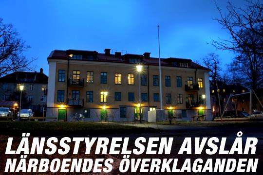 Ett bostadsprojekt i mörker. Motståndet har varit hårt - men nu kan ljusare tider stunda... Foto: Fredrik Norman
