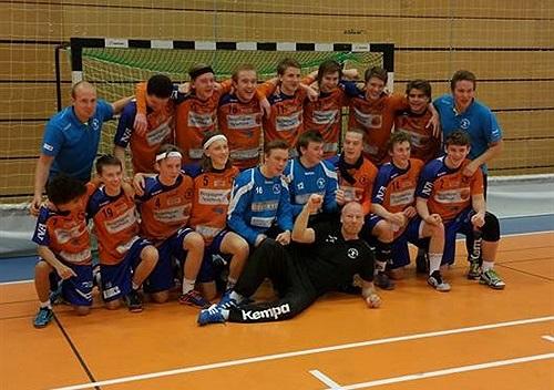 Tack vare en sen kvittering i den avslutande matchen vann LIF gruppen. FOTO: LIF Lindesberg