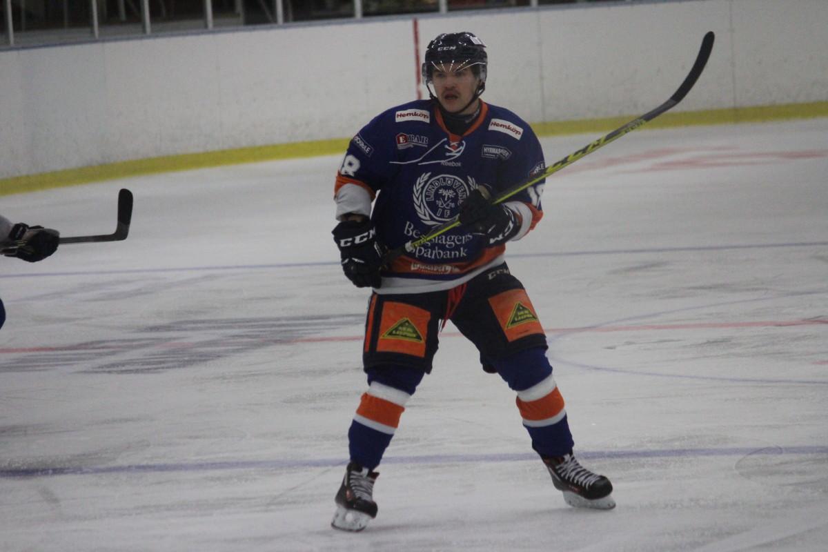 Med två mål låg Anton Tano bakom Lindlövens två poäng på lördagen. ARKIVFOTO: Hannes Feldin