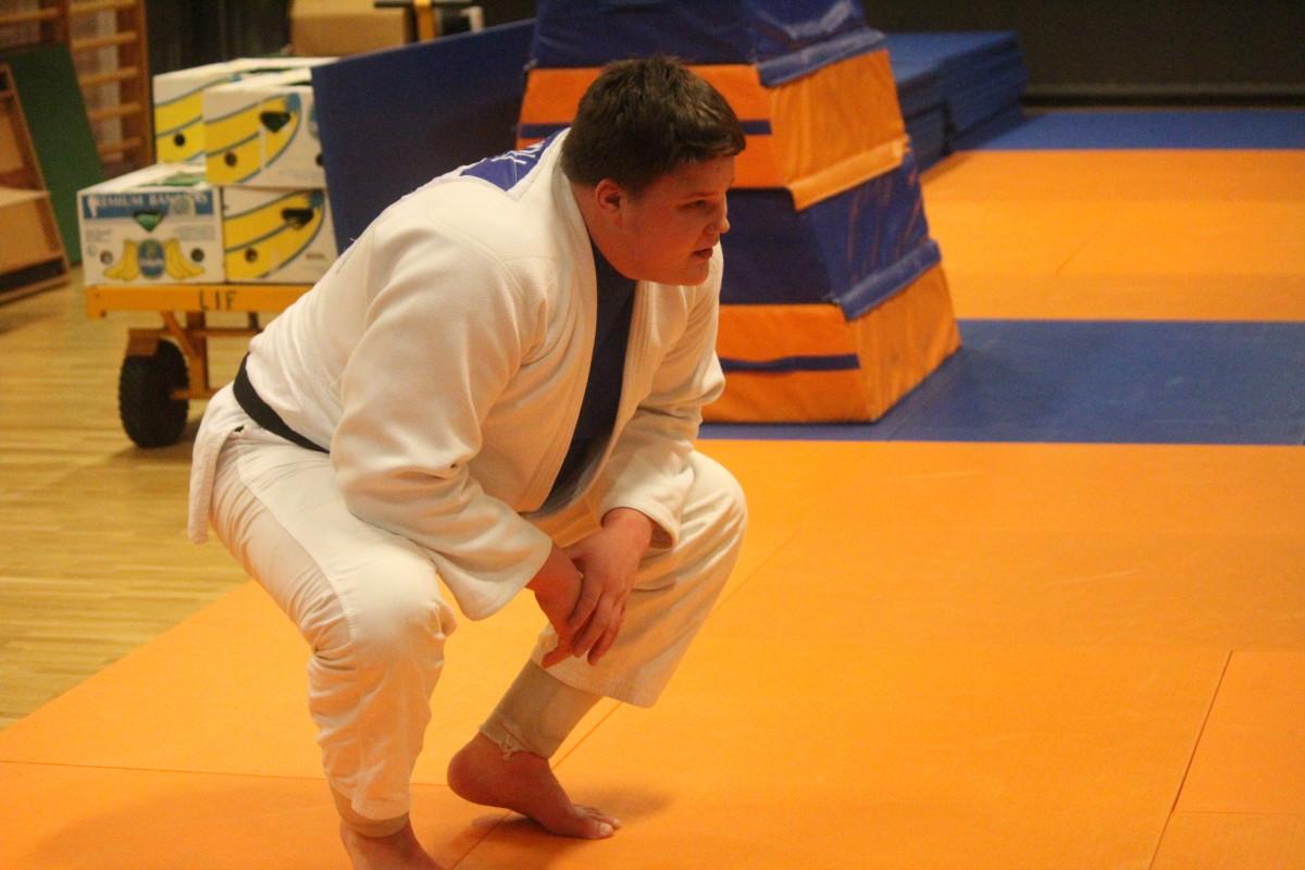 Sebastian Fagerhill är kvitt sin axelskada och siktar framåt på judomattan. FOTO: Hannes Feldin