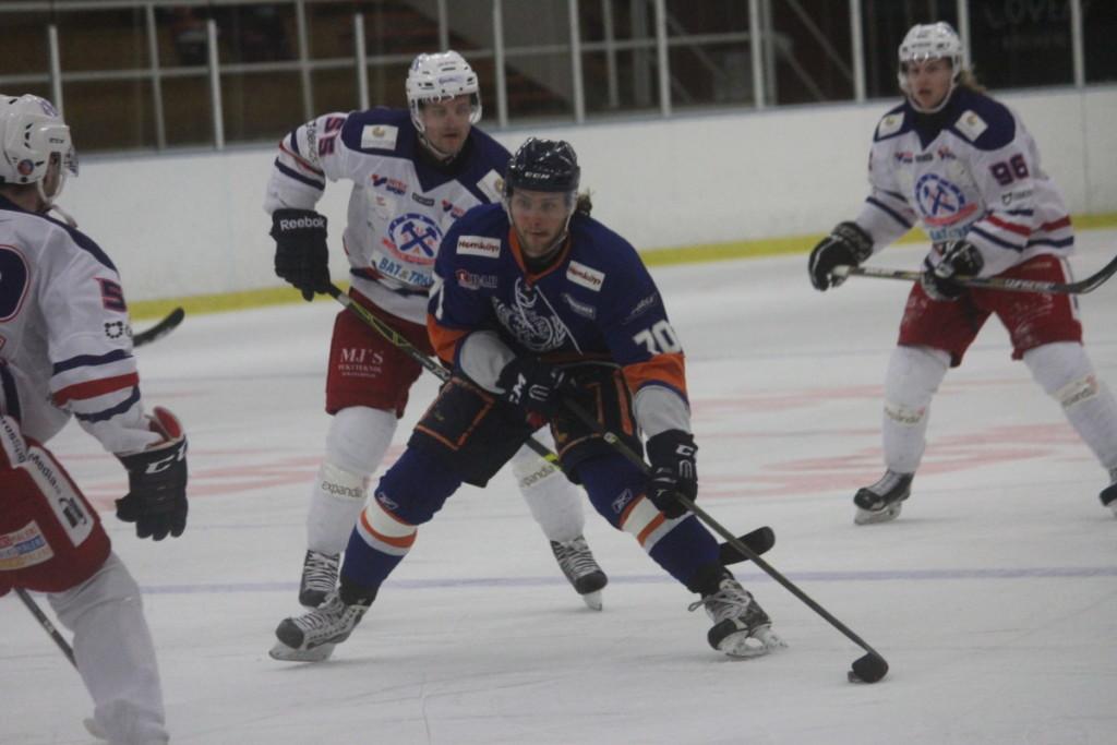 Max Lalander öppnade målskyttet när Lindlöven fick med sig en poäng från Skövde. ARKIVFOTO: Hannes Feldin