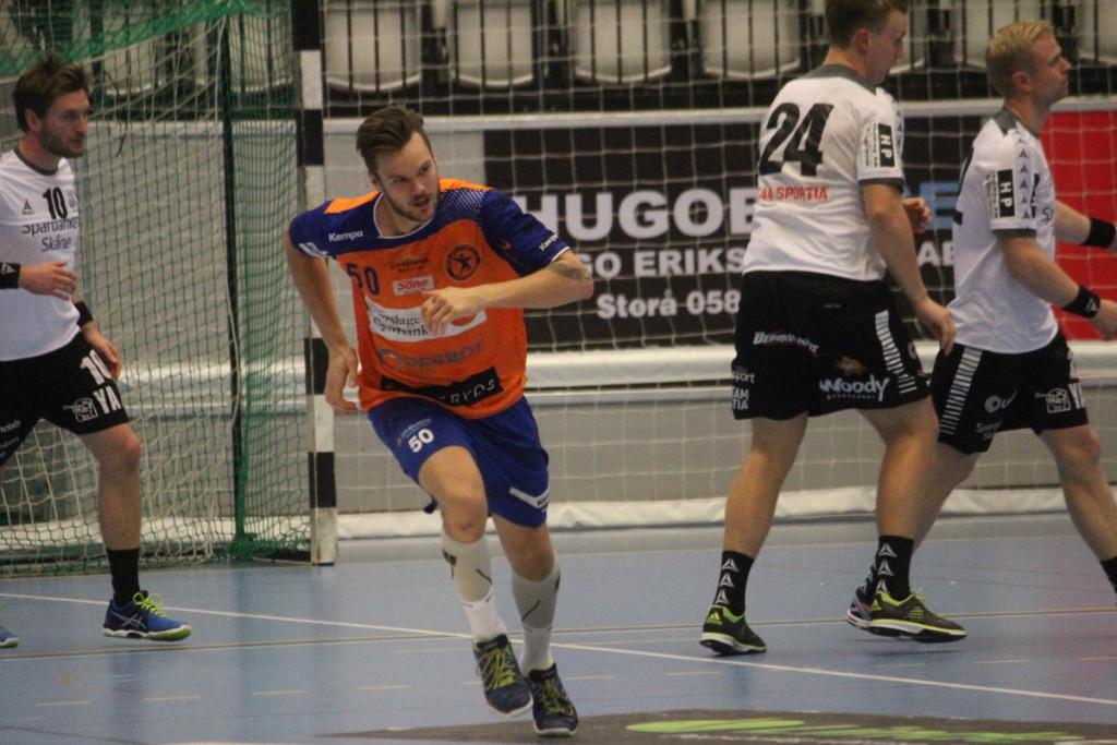 Med åtta mål visade Joakim Bååk vägen när LIF besegrade OV på söndagen. ARKVIFOTO: Hannes Feldin