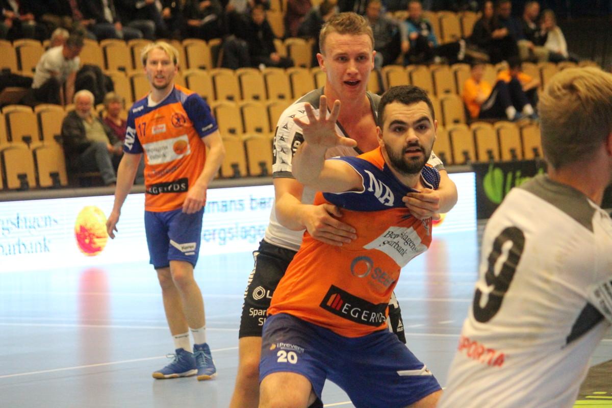 Fatlum Ahmeti stod för åtta mål i LIF:s förlustmatch mot IFK Ystad. ARKIVFOTO: Hannes Feldin