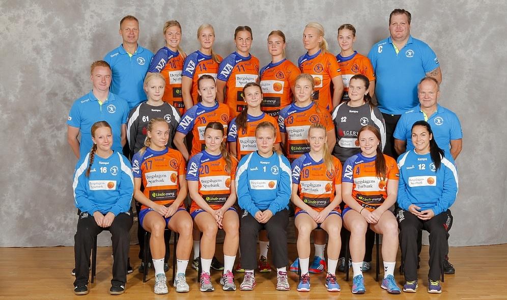Johanna Vestin Sjölund, mitten, är uttagen till landslagets samling i februari. FOTO: LIF Lindesberg