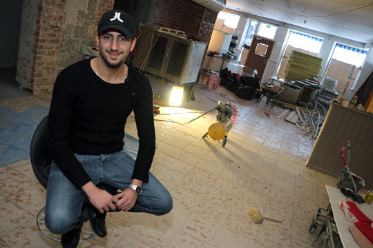 Hasan Agrali öppnar italiensk restaurang i före detta Restaurang Palmas.