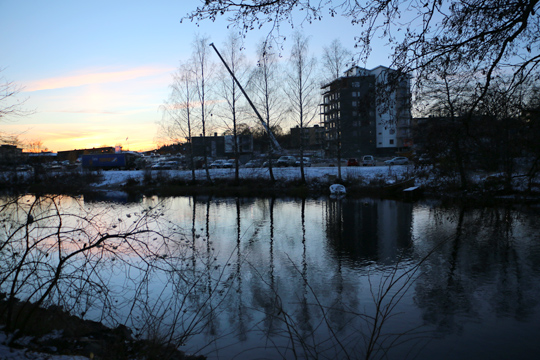 Bostadsbygget vid Ålkilsbacken är tillräckligt, anser en sakägare som nu motsätter sig fortsatt bebyggelse i samma område. Arkivfoto: Fredrik Norman
