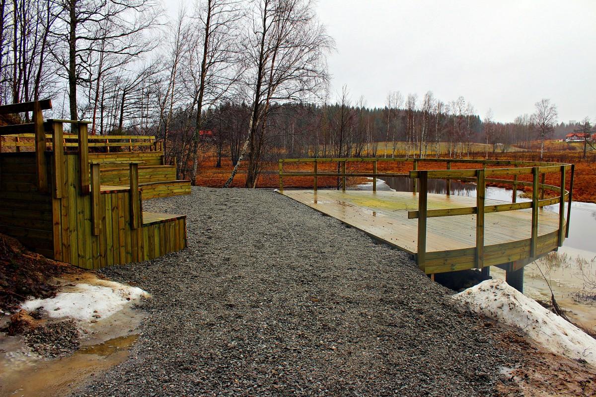 Amfiteatern redo att användas när värmen faller på. Foto: Ida Lindkvist