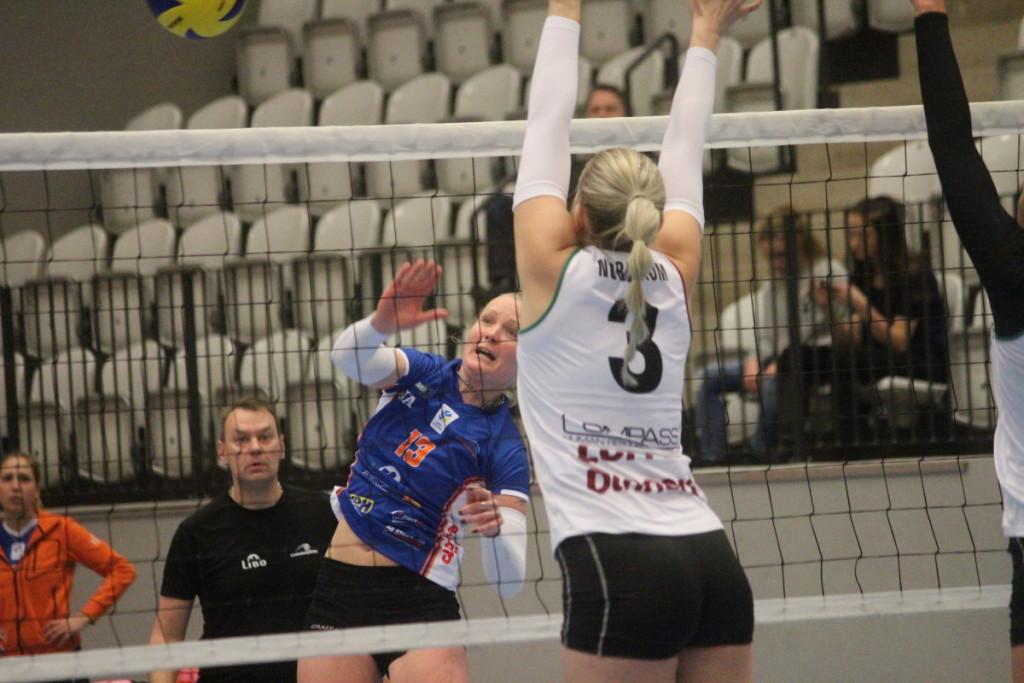 Martina Konecna och Lindesberg Volley vann programenligt borta mot Sollentuna, ARKIVFOTO: Hannes Feldin