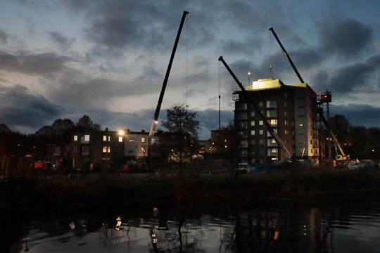 Detaljplanen öppnar för nya höghusprojekt. Arkivfoto: Fredrik Norman