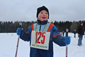 Axel Thybeck, 9 år.
