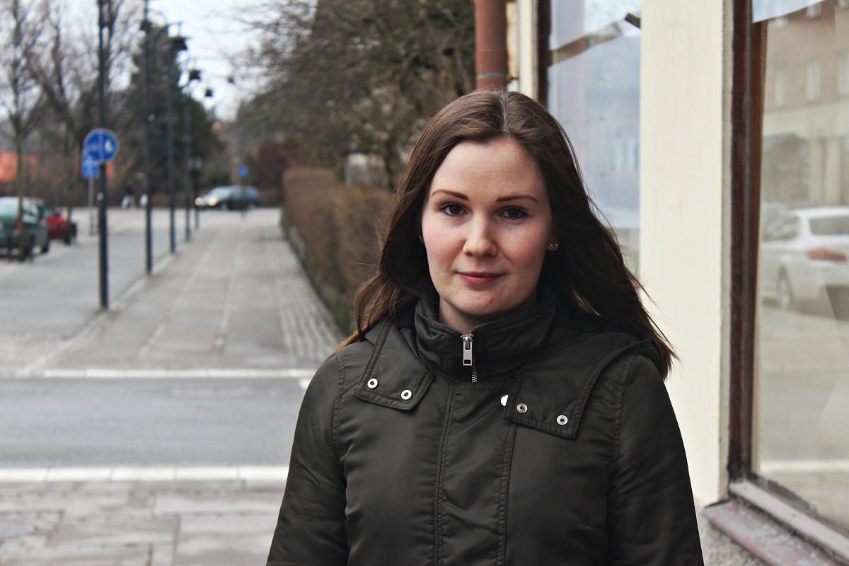 Sara Kvarnlöf satsar på butik på stan. Foto: Ida Lindkvist