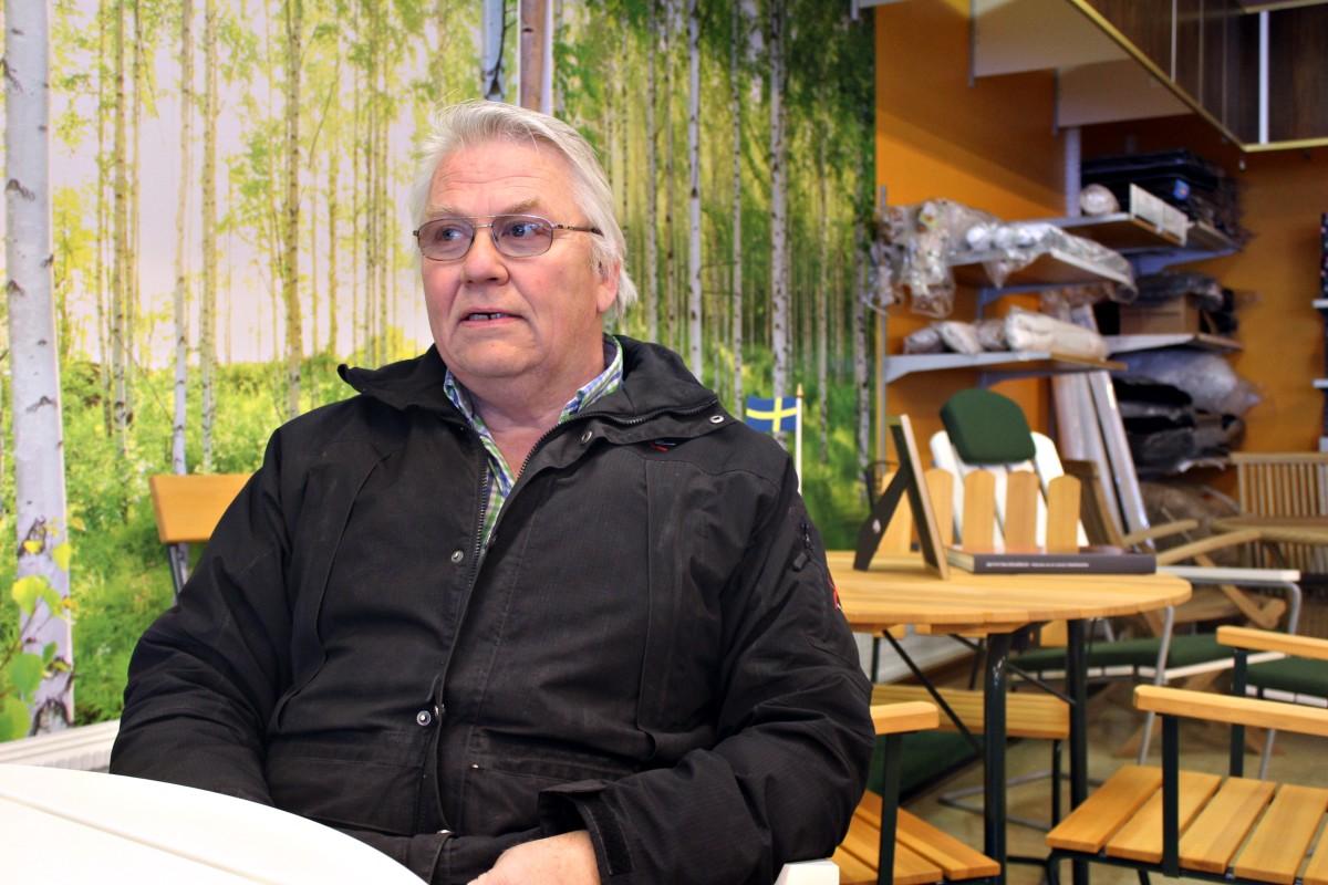 Lars Gårlid har öppnat för säsongen. Foto: Ida Lindkvist