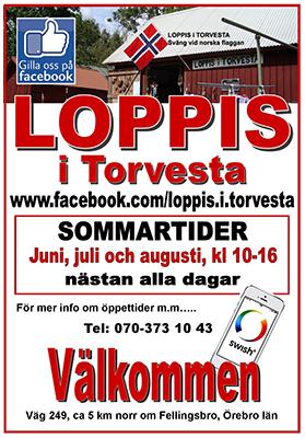 a831c451aed Loppis i Torvesta   LindeNytt.com – Senaste nytt från Lindesberg